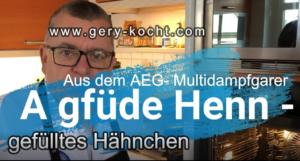 Gefülltes Huhn aus dem AEG Multidampfgarer - gefülltes Hendl